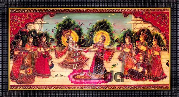 krishna radha dance