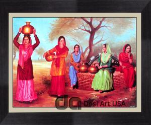 punjabi culture and tradition paintings