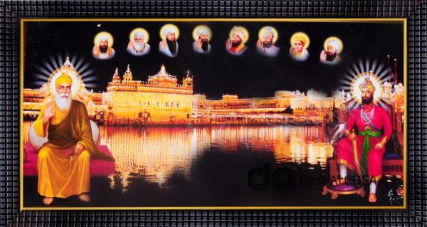 das guru in golden temple