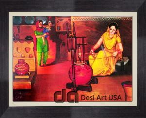 punjabi culture and tradition painting