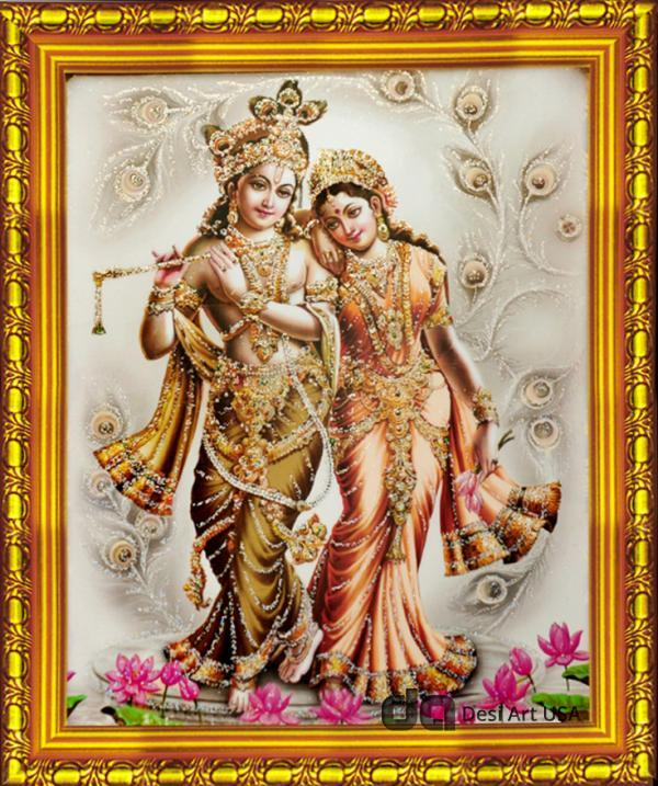 krishna radha love