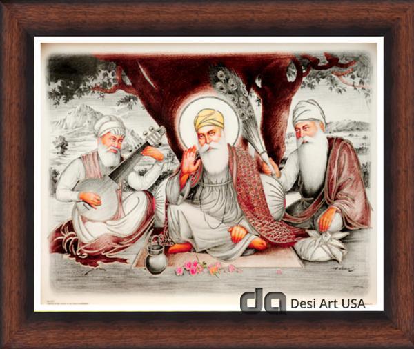 guru nanak dev ji with bala mardana